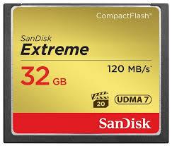 <b>Карта памяти SanDisk Extreme</b> CompactFlash 120MB... — купить ...