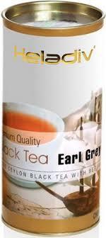 <b>Чай черный HELADIV HD</b> EARL GREY 100 gr Round P.T купить в ...