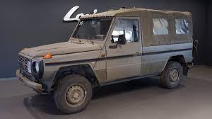 В Германии недорого продают 34 военных <b>Mercedes</b>-<b>Benz</b> G-Class