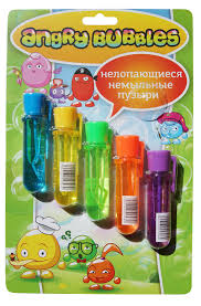Angry Bubbles пузыри <b>немыльные</b> блистер 5 шт: НD112-DIS, 550 ...