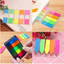 100pcs Paper <b>Memo</b> Pad Label Tag Index N Times Sticky Notes ...