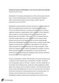 year  economics  case study  china  globalisation essay   year    year  economics  case study  china  globalisation essay