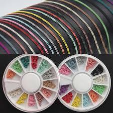 <b>Swagpick</b> 50cm Macaron Colorful Hollow Chain <b>Nail</b> Metal ...