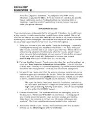 resume template a resume objective with profile and skills or work resume objective statments