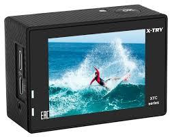 Купить <b>Экшн</b>-<b>камера X-TRY XTC192</b> EMR UltraHD черный по ...