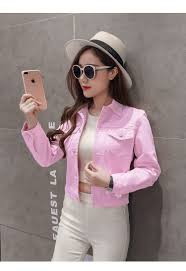 <b>New</b> 2019 <b>Spring Summer</b> Casual <b>Female</b> Denim Jacket Short Stye ...