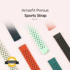 Without box Original Strap <b>20mm Amazfit</b> Smart <b>Watch</b> Strap for ...
