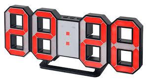 <b>Часы</b>-будильник <b>Perfeo</b> LED <b>Luminous</b> PF-663 Red купить в ...