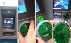 Benjamin Tedesco spots a cash machine skimmer on an ATM in ...