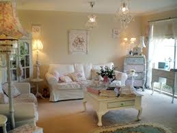 shabby chic living room pictures