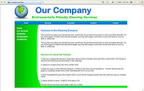 Website Templates for Cleaning Companies Affordable Website Designs via Relatably.com