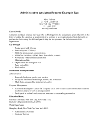 administrative assistant objective statement examples best sample resume administrative assistant legal assistant on a inside administrative assistant objective statement examples 3170