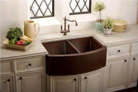 fine copper sink farm style