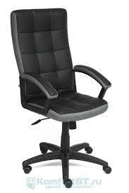 Купить <b>Офисное кресло TetChair Trendy</b> кож/зам/ткань, черный ...