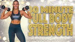 30 Minute <b>NEW YEAR</b> Full <b>Body</b> Strength Workout! - YouTube