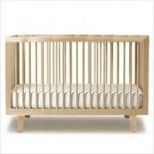 free mattress with oeuf sparrow crib in birch baby modern furniture