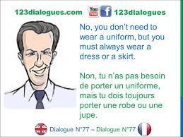 dialogue english french anglais fran ccedil ais starting a new job dialogue 77 english french anglais franccedilais starting a new job commencer un nouveau travail