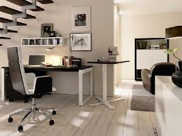 homeoffice home office arrangement ideas awesome black white office design