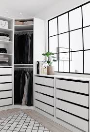 figure black shiny bedroom drawers  types of wardrobes you can own at your home buy wardrobe online