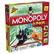 «Настольная игра <b>monopoly</b> junior <b>монополия</b>» — Детские ...