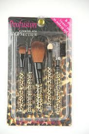 profusion 5pc brush set print hot professional cosmetics