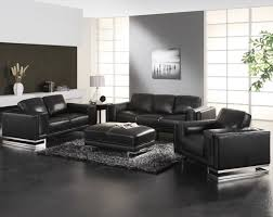 getting the elegant style with leather living room sectionals modern black living room decoraton with black modern living room furniture
