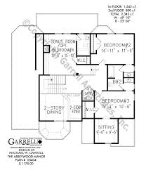 Abbeywood Manor House Plan   Active Adult House Plans    abbeywood manor house plan   nd floor plan