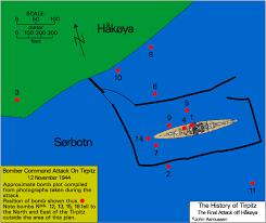 「tirpitz sinking by tallboy」の画像検索結果