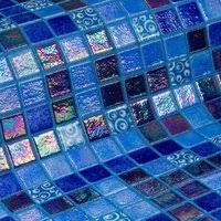 Купить мозаику Blueberries <b>Стеклянная мозаика Ezarri Topping</b> ...