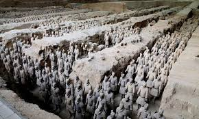 Billedresultat for the terracotta army excavation