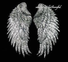 Large <b>Angel Wings Sequin</b> Patches Iron on Sew on Appliques ...