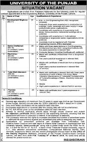 electrician archives jhang jobs plumber job lahore punjab university job senior draftsman electrician tube well attendant