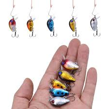 Yosoo <b>5pcs</b> 3cm 3D Holographic Eyes <b>Mini</b> Fishing Lures Floating ...