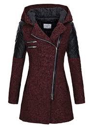 <b>Long</b> Sleeve <b>Hooded Zipper</b> Coats Jackets - Floryday