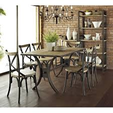 wood and wrought iron furniture american country wood dining tables and chairs wrought iron tables and bedroomendearing small dining tables mariposa valley
