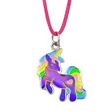 Fun Jewels Fairy Tale <b>Cute Unicorn</b> Pendant Children Color ...