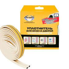 <b>Уплотнитель резиновый D</b>-<b>профиль</b> белый 6м <b>AVIORA</b> - купить в ...