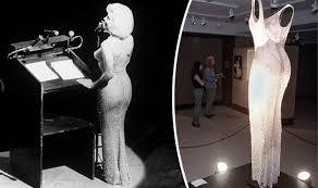 Marilyn Monroe's 'Happy Birthday Mr President' dress auctioned in ...