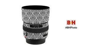 LensSkins Lens Wrap for Canon 50mm f/1.4 (BW <b>Damask</b>)