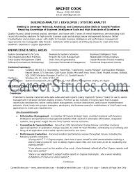 business business analyst profile resume business analyst profile resume template