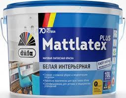 <b>Краска</b> для стен и потолков латексная <b>Dufa Retail Mattlatex</b> Plus ...