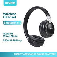 Fashion <b>Wireless Bluetooth</b> Headsets <b>KIVEE</b> Noise Cancelling ...