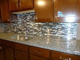 diy tile kitchen countertops: image of colorful glass tile countertops