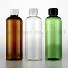 2019 <b>100ml</b> White <b>Transparent Mini</b> Vial <b>Clear</b> Makeup Plastic <b>PET</b> ...