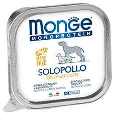<b>Monge Dog Monoproteico</b> Solo паштет из курицы 150 г <b>консервы</b> ...