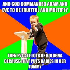4-year-old Evangelist memes   quickmeme via Relatably.com