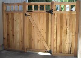 Small Picture How to Build a Wood Fence Gate Fence gate design Wood fence