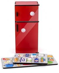 Сортер «Холодильник. <b>Красный</b>» - <b>Наша игрушка</b>