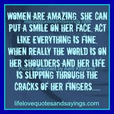 Amazing Quotes About Women. QuotesGram