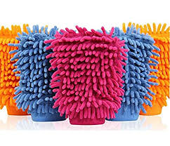 ALOUD CREATIONS <b>Double</b> Sided Microfiber <b>Cleaning</b> Gloves ...